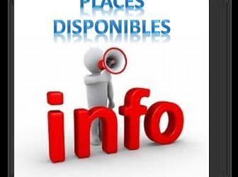 Places disponibles par Activité